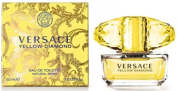Versace Yellow Diamond, Toaletní voda, 50ml, Dámska vôňa