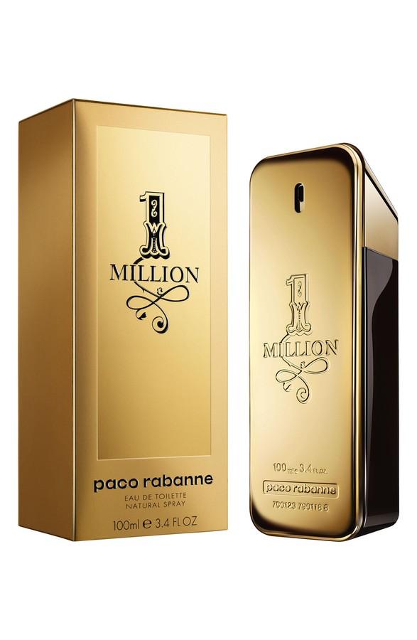 Paco Rabanne 1 Million, Toaletní voda, 100ml, Pánska vôňa