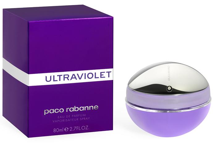 Paco Rabanne Ultraviolet, 80ml, Parfémovaná voda