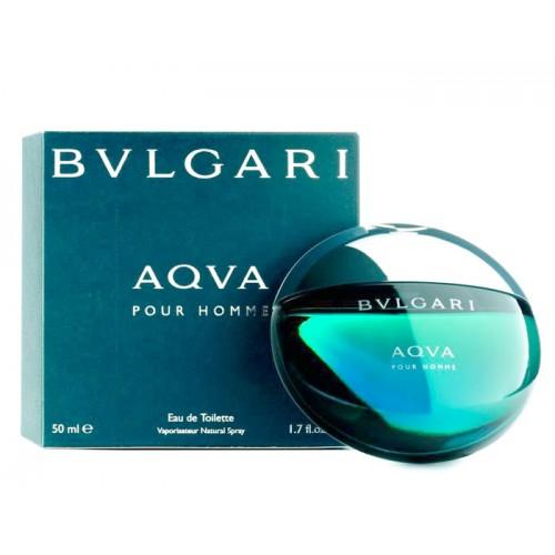 Bvlgari Aqva pour Homme, Toaletní voda, 50ml, Pánska vôňa