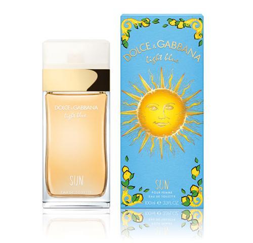 Dolce & Gabbana Light Blue Sun pour Femme, 100ml, Toaletní voda