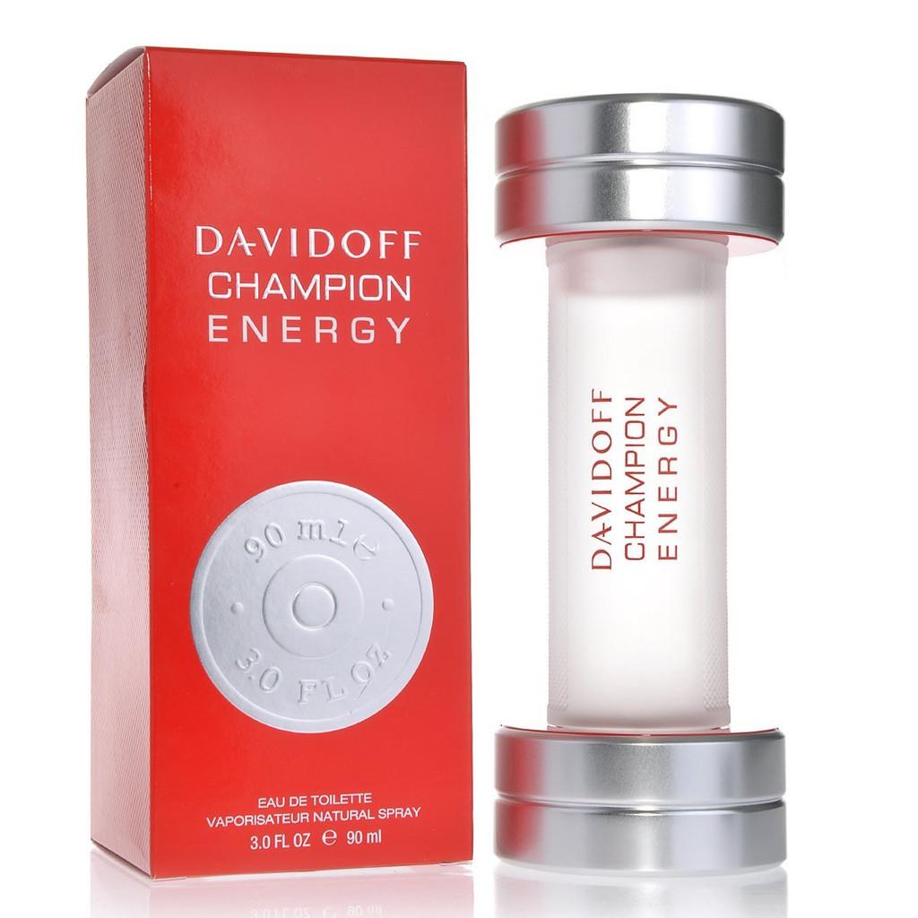 Davidoff Champion Energy, 90ml, Toaletní voda