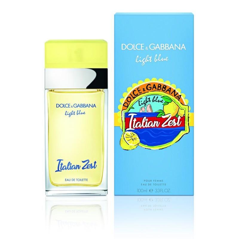 Dolce & Gabbana Light Blue Italian Zest, 100ml, Toaletní voda