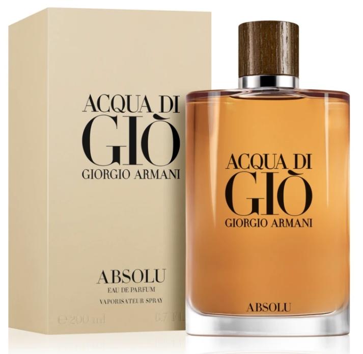 Giorgio Armani Acqua di Gio Absolu, 200ml, Parfémovaná voda