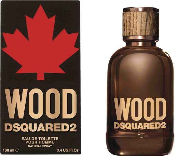 Dsquared2 Wood Pour Homme, 100ml, Toaletní voda