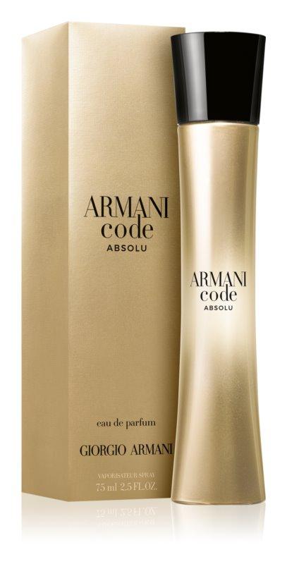 Giorgio Armani Code Absolu, 75ml, Parfémovaná voda