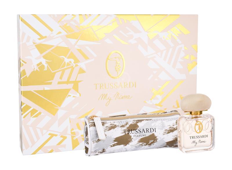 Trussardi My Name, parfémovaná voda 50ml + kosmetická taška, Dárková sada
