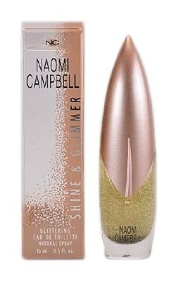 Naomi Campbell Shine & Glimmer, 15ml, Toaletní voda