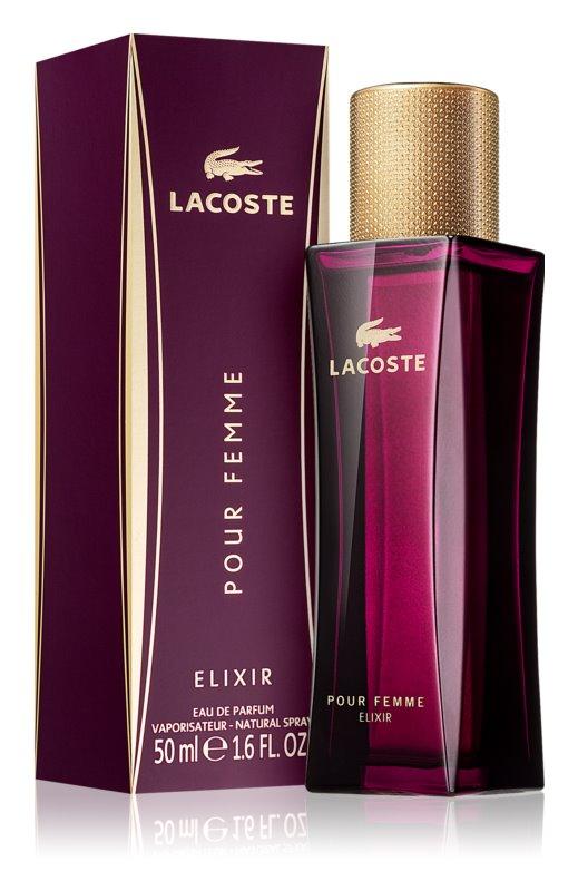 Lacoste Pour Femme Elixir, 50ml, Parfémovaná voda
