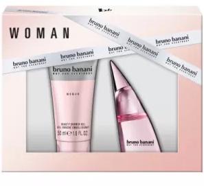 Bruno Banani Bruno Banani Woman, toaletní voda 20ml + sprchový gel 50ml , Dárková sada