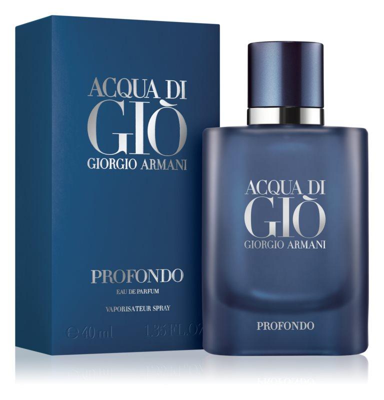 Giorgio Armani Acqua di Gio Profondo, 40ml, Parfémovaná voda