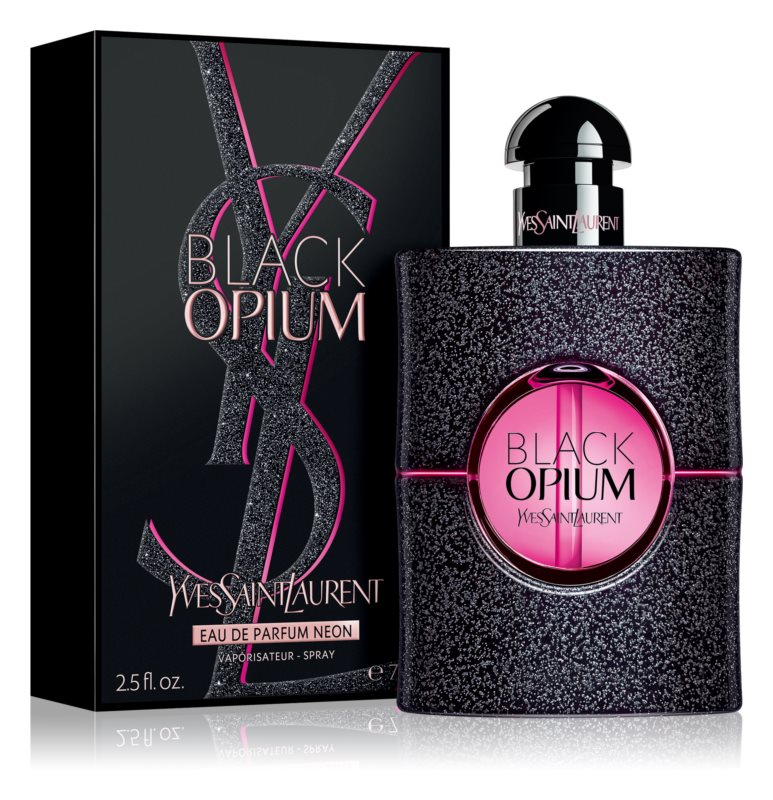 Yves Saint Laurent Black Opium Neon, 75ml, Parfémovaná voda