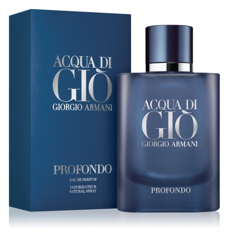 Giorgio Armani Acqua di Gio Profondo, 75ml, Parfémovaná voda