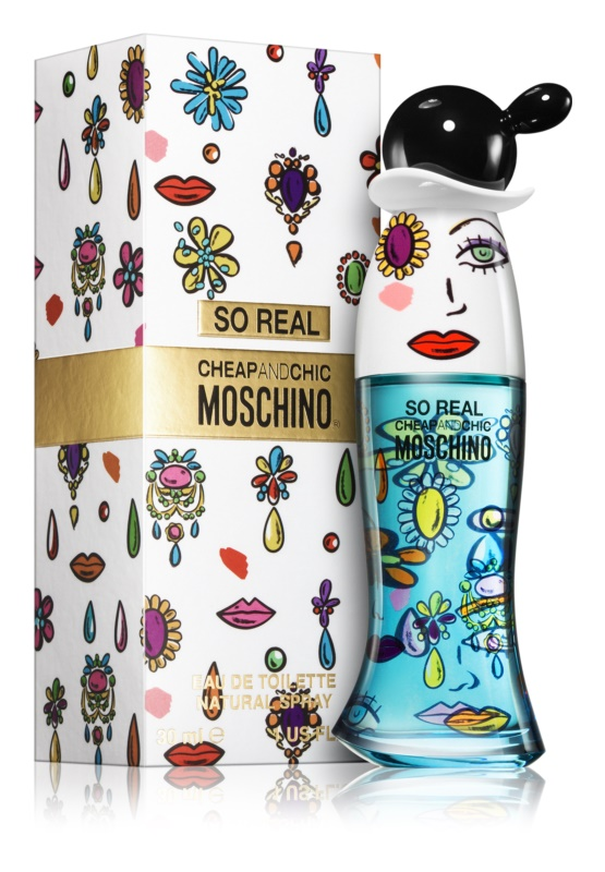 Moschino So Real Cheap & Chic, 30ml, Toaletní voda