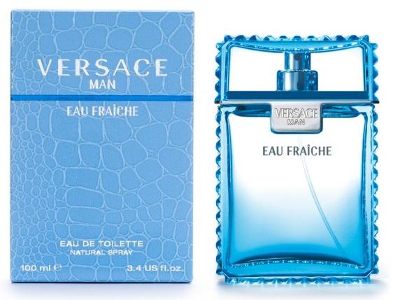 Versace Man Eau Fraiche, Toaletní voda, 100ml, Pánska vôňa
