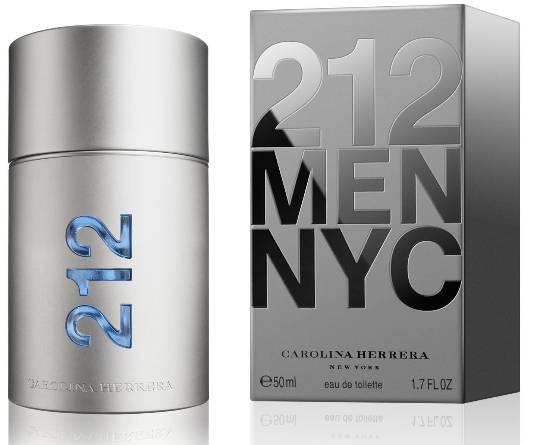 Carolina Herrera 212 Men, 50ml, Toaletní voda