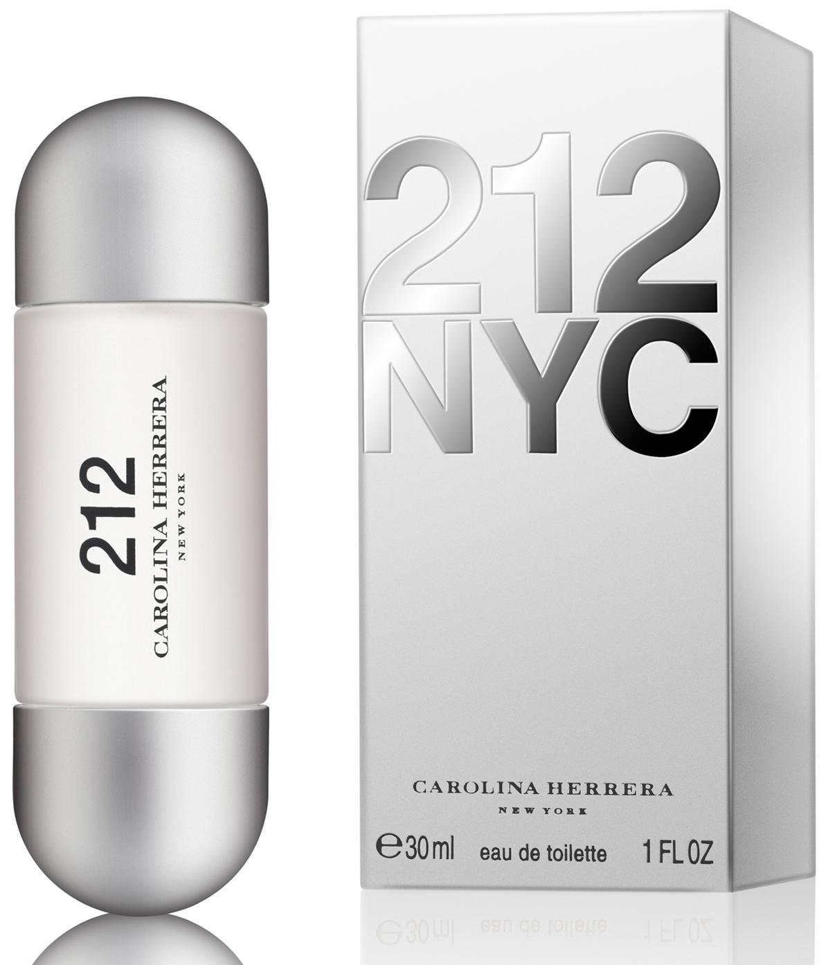 Carolina Herrera 212 Woman, Toaletní voda, 30ml, Dámska vôňa