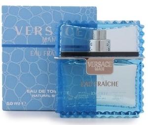 Versace Man Eau Fraiche, Toaletní voda, 50ml, Pánska vôňa