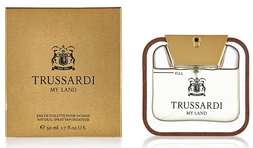Trussardi My Land, 50ml, Toaletní voda