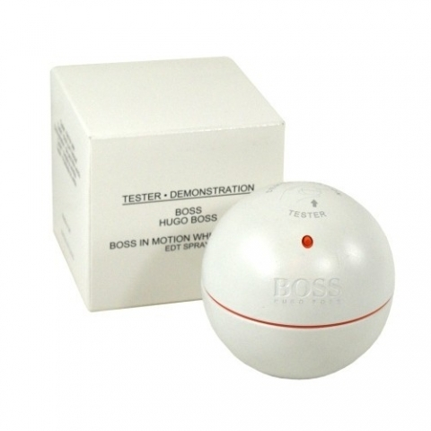 Hugo Boss In Motion White, 90ml, Toaletní voda - Tester