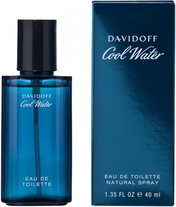 Davidoff Cool Water Man, 40ml, Toaletní voda
