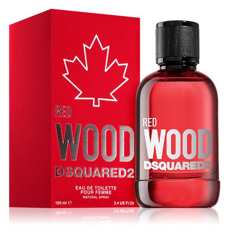 Dsquared2 Red Wood, 100ml, Toaletní voda
