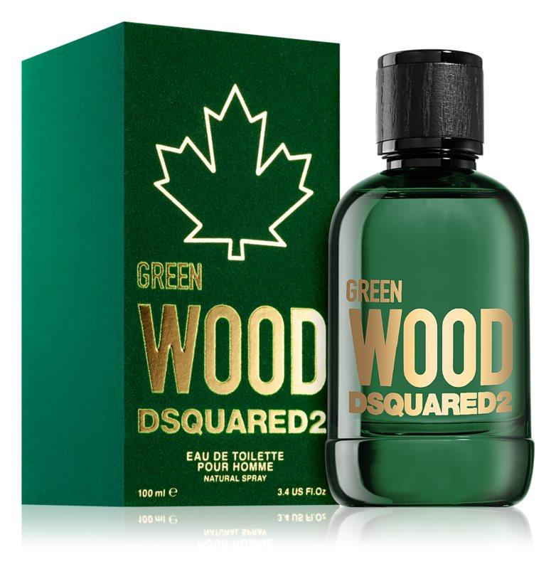 Dsquared2 Green Wood, 100ml, Toaletní voda