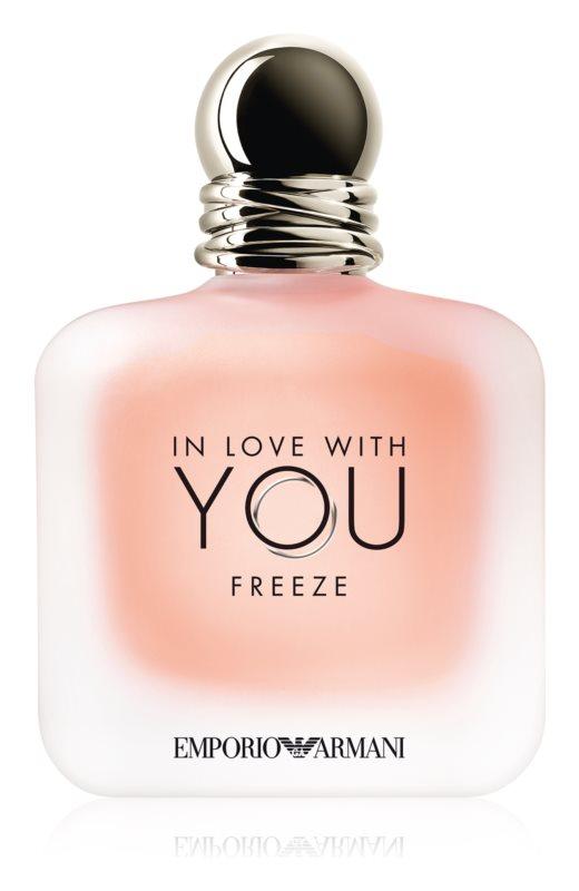 Giorgio Armani Emporio In Love With You Freeze, 100ml, Parfémovaná voda - Tester
