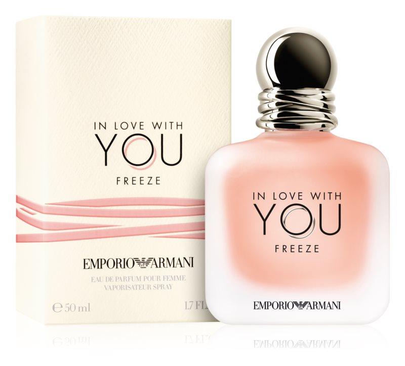 Giorgio Armani Emporio In Love With You Freeze, 50ml, Parfémovaná voda