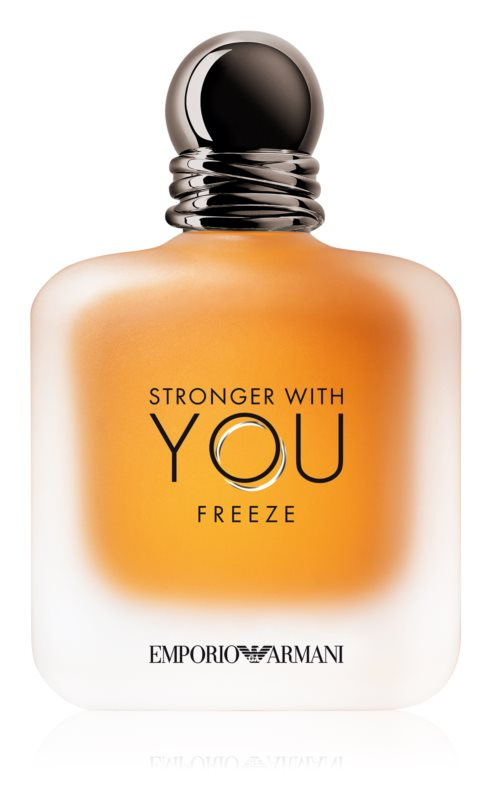 Giorgio Armani Stronger With You Freeze, 100ml, Toaletní voda - Tester