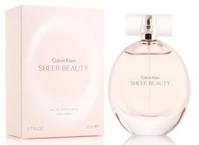 Calvin Klein Beauty Sheer, 50ml, Toaletní voda