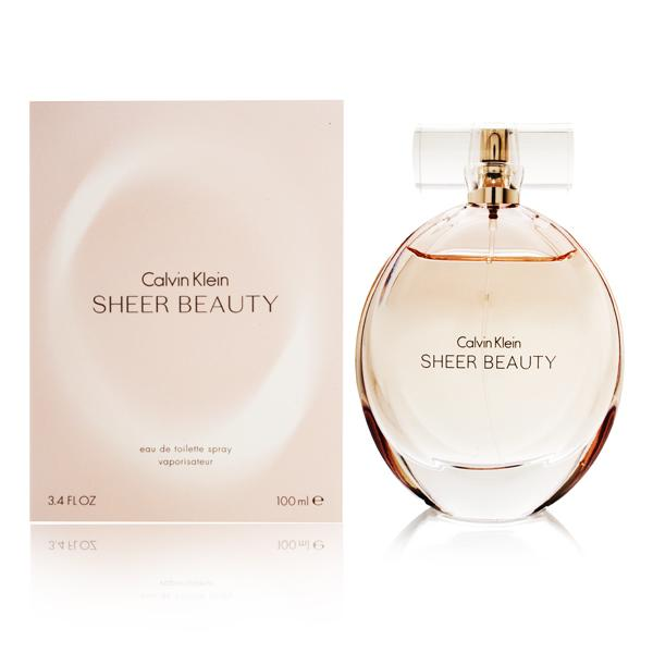 Calvin Klein Beauty Sheer, Toaletní voda, 100ml, Dámska vôňa