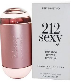 Carolina Herrera 212 Sexy Woman, Parfémovaná voda - Tester, Pro ženy, 100ml