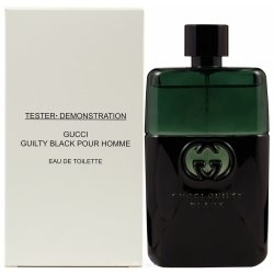 Gucci Guilty Black pour Homme, 90ml, Toaletní voda - Tester