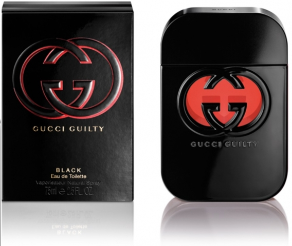 Gucci Guilty Black pour Femme, 75ml, Toaletní voda