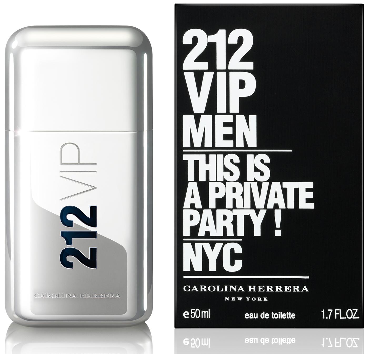 Carolina Herrera 212 VIP Men, Toaletní voda, Pánská vůně, 50ml