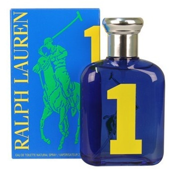 Ralph Lauren Big Pony 1 Blue Man, Toaletní voda, 40ml, Pánska vôňa