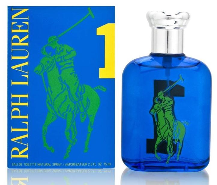 Ralph Lauren Big Pony 1 Blue Man, Toaletní voda, 75ml, Pánska vôňa