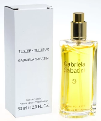 Gabriela Sabatini Gabriela Sabatini, Toaletní voda - Tester, Pro ženy, 60ml