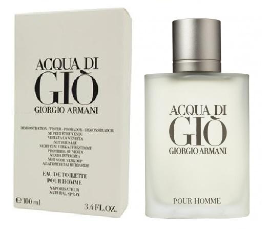 Giorgio Armani Acqua di Gio pour Homme, Toaletní voda - Tester, 100ml, Pánska vôňa