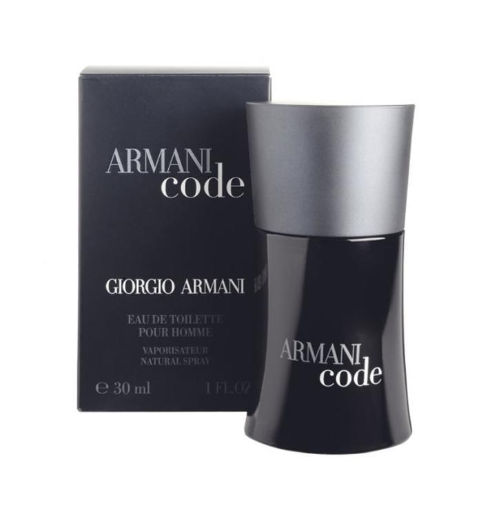 Giorgio Armani Black Code, 30ml, Toaletní voda