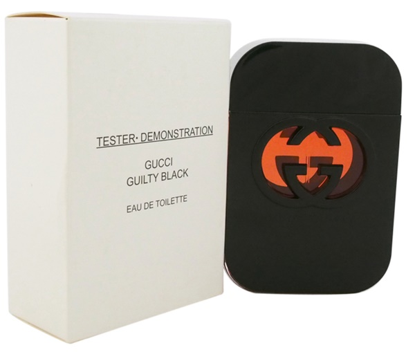 Gucci Guilty Black pour Femme, 75ml, Toaletní voda - Tester