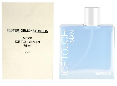 Mexx Ice Touch Man, Toaletní voda - Tester, Pro muže, 75ml