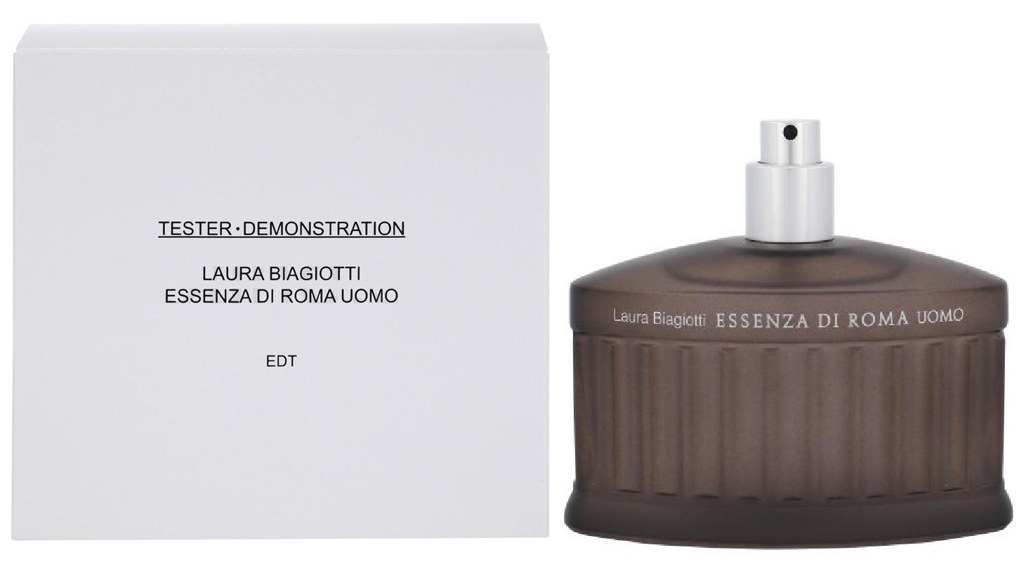 Laura Biagiotti Essenza di Roma Uomo, 125ml, Toaletní voda - Tester