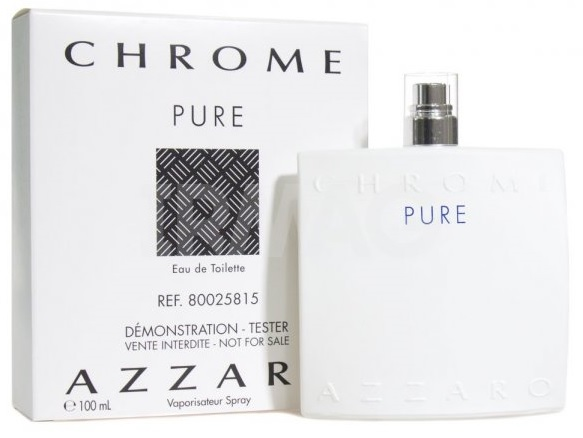 Azzaro Chrome Pure, 100ml, Toaletní voda - Tester