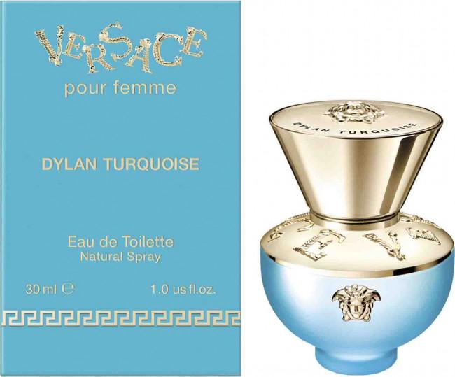 Versace Pour Femme Dylan Turquoise, 30ml, Toaletní voda