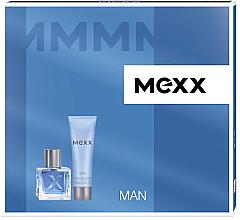 Mexx Mexx Man, Dárková sada, Pro muže, toaletní voda 50ml + sprchový gel 200ml