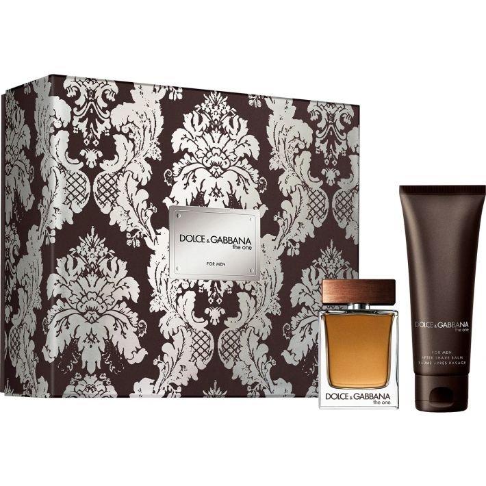Dolce & Gabbana The One for Men, toaletní voda 50ml + balzám po holení 75ml, Dárková sada