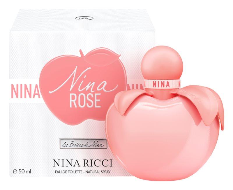 Nina Ricci Nina Rose, 50ml, Toaletní voda