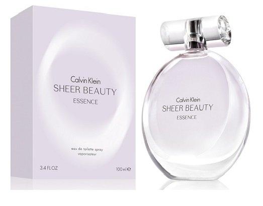 Calvin Klein Beauty Sheer Essence, Toaletní voda, 100ml, Dámska vôňa